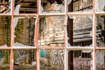 Einblick | Lost Places Foto