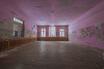 Rosa Raum | Lost Places Foto
